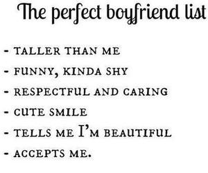 list, boyfriend, and love image