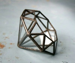 3d, hipster, and diamond image