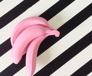 pink, banana, and black image