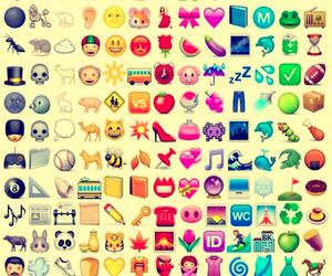 emoji, background, and hipster image