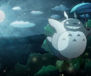 anime, kawaii, and night image