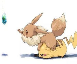pokemon, cute, and pikachu image