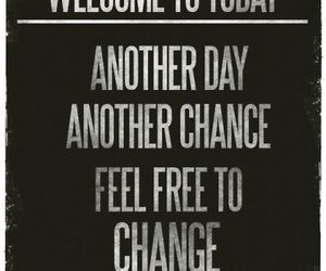 quote, change, and today image