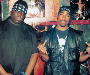2pac, outlaws, and biggie smalls image