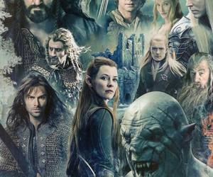 the hobbit, Legolas, and thorin image