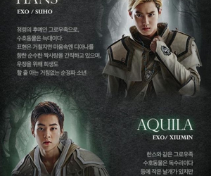 exo, exom, and xiumin image