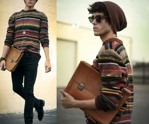 hipster, boy, and guy image