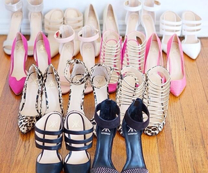 kk, shoes, and kardashian image