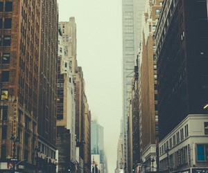 city, vintage, and new york image