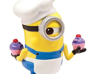 minions, cupcake, and chef image