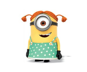 girl and minion image