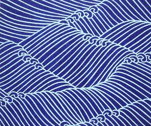 blue and waves image