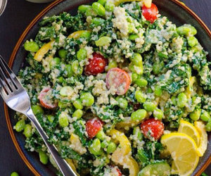 fit, food, and green image