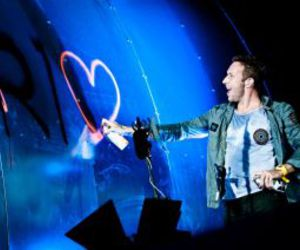 coldplay, rock in rio, and Chris Martin image