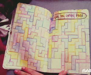 colour, page, and wreck this journal image