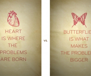 love, butterfly, and chaos image