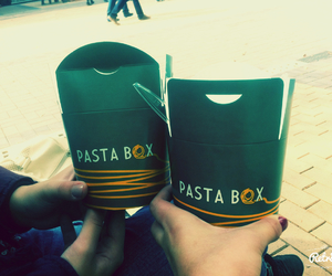 box, outside, and pasta image