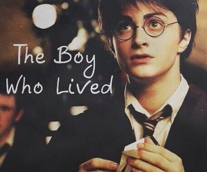 harry potter, boy, and the boy who lived image