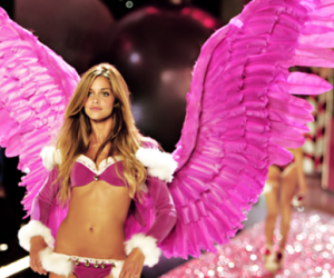 pink and victoria secret image