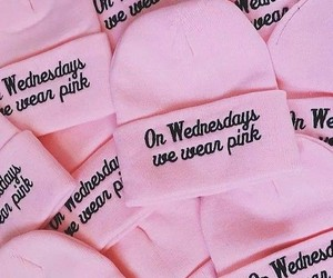 pink, mean girls, and wednesday image