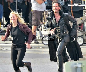 hook, Jennifer Morrison, and once upon a time image