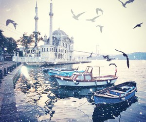 istanbul, sea, and turkey image