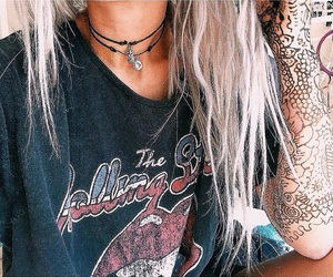 cool, grunge, and hair image