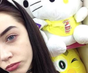 elizabeth jane bishop, hello kitty, and model image