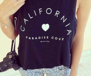 fashion, california, and summer image