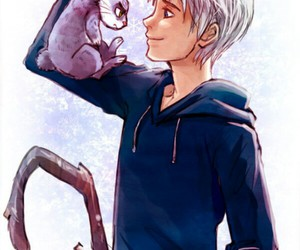 jack frost, bunny, and rise of the guardians image