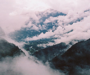 mountains, clouds, and nature image