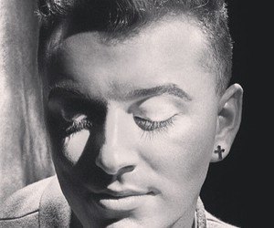 beautiful, sam smith, and black and white image