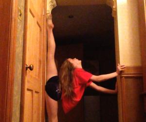ballet, gymnast, and gymnastics image