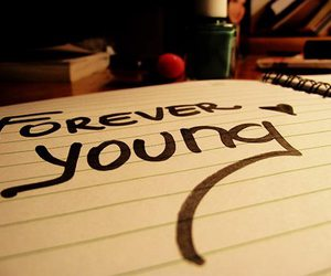 art, forever, and Forever Young image