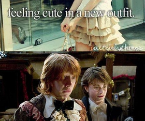 harry potter, funny, and outfit image
