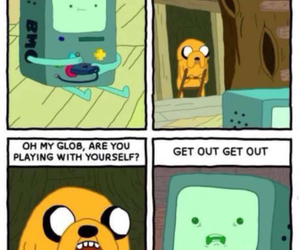 adventure time, funny, and bmo image