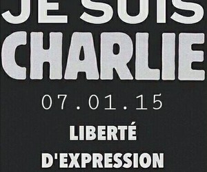 charlie, france, and jesuischarlie image