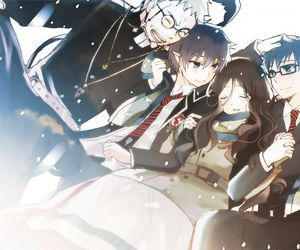 anime, ao no exorcist, and family image