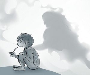 death, dwarf, and j.r.r. tolkien image