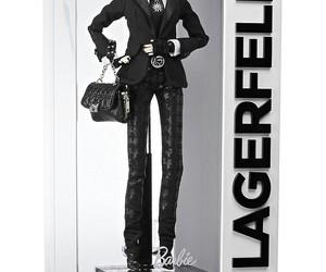 barbie, karl lagerfeld, and platinum label image