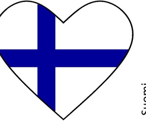 finland and heart image