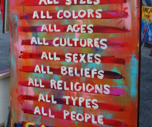 all, people, and colors image