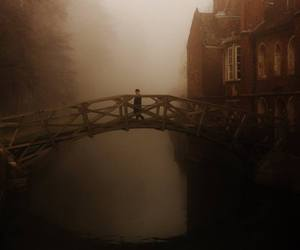 bridge, obscure, and ponte image