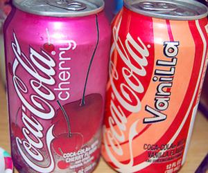 cherry, vanilla, and coca cola image