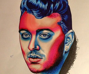 beautiful, sam smith, and drawing image
