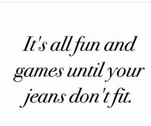 fun, fat, and jeans image