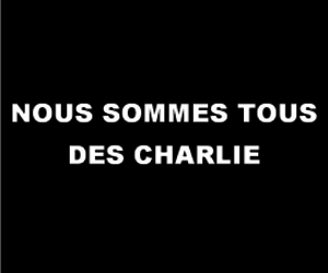 <3, charlie, and charlie hebdo image