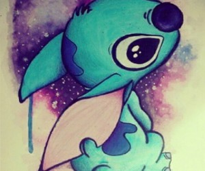 stitch, drawings, and ohana image