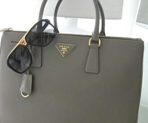 Prada, bag, and sunglasses image
