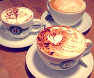 coffee, love, and delicious image